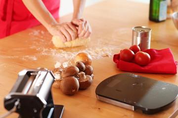 Pasta mit der Nudelmaschine selbst machen