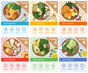 Food and vitamins