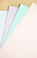 Pastel paper design background