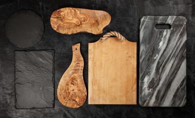 Fotoväggar - Set of different cutting boards