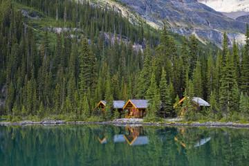 Lake O'Hara Lodge, Yoho National Park, British Columbia, Canada
