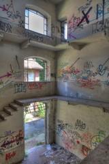 Alte und verlassene psychiatrische Klinik