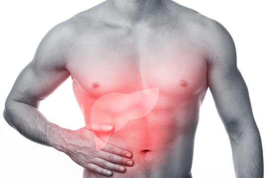 Man has liver pain