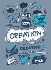 Conceptual representation of an idea
