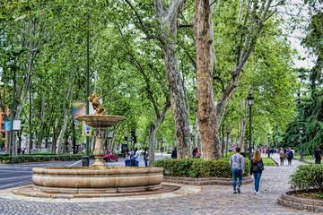 Madrid, Paseo del Prado