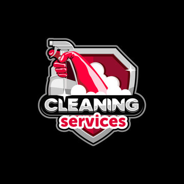 logo house cleaning service