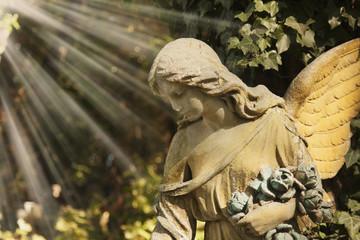 Vintage image of angel