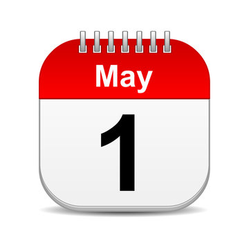 may 1 calendar icon