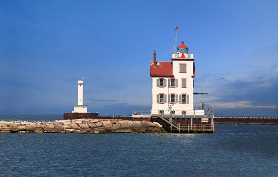 The Lorain Lighthouse