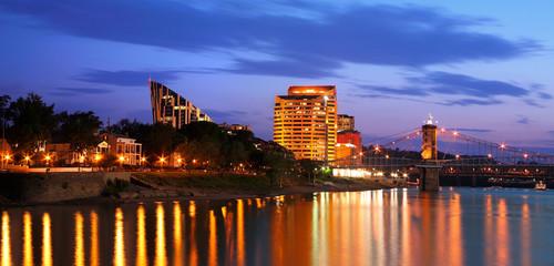 Covington Kentucky At Night