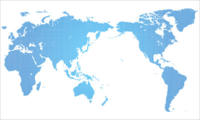 Dotted world map #Global image,