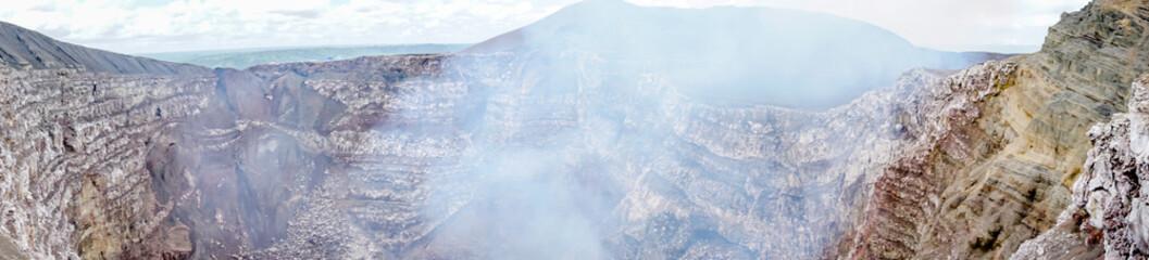 view of volcan Masaya, Nicaragua. The most active volcano in Nicaragua. Fototapete