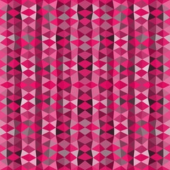 Colorful mosaic background. Pink triangle wallpaper