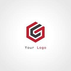 polygon letter G logo