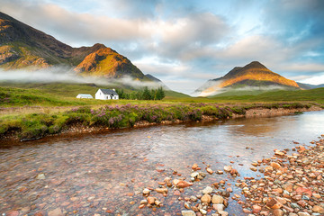 Wall Mural - Glencoe Mountains
