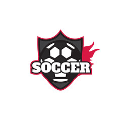 Football logo design, soccer team