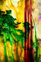 Colorful futuristic background.