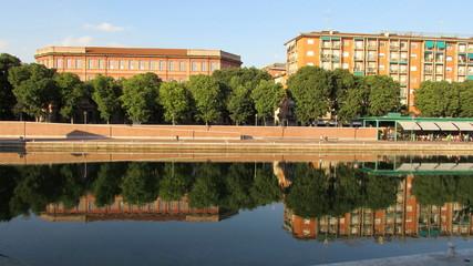 Darsena a Milano - specchio d'acqua