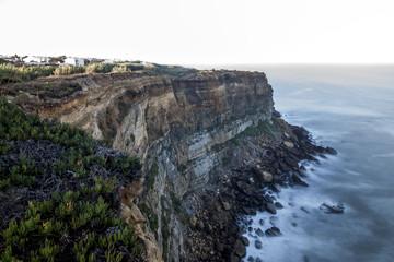 Ocean cliff near Lisbon