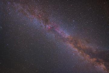 la Via Lattea (emisfero nord)