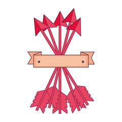 pink love arrow