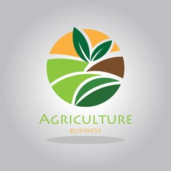 Sign or Symbol farming logo