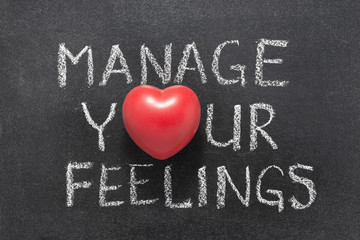 manage your feelings heart