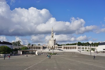 The town of Fatima in Central Portugal, home to a Catholic pilgrimage