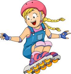 Kid Girl Roller Skates