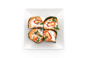 thai steamed curried fish