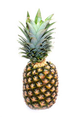 ripe juicy pineapple as an illustration of tropical fruit