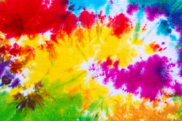 colourful tie dye pattern abstract background.
