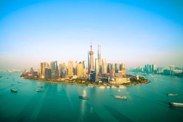 China metropolis, shanghai skyline
