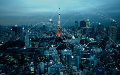 japan city network technology