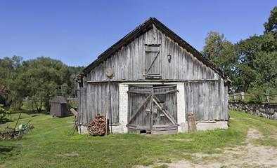 vintage rural shed