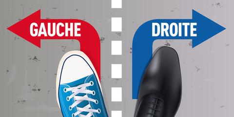 élection - Gauche Droite - opposition