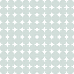 Seamless Modern Vector Pattern With Dots - 119518640