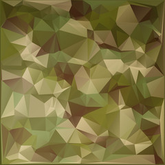 Abstract Vector Military Camouflage Background Made of Geometric Triangles Shapes.Polygonal style.