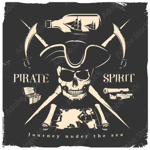 Pirates Print Or Poster