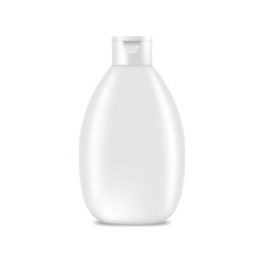 Shampoo, lotion bottle. Mock up, cosmetic package