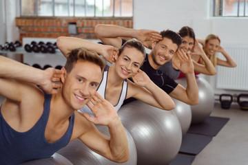rücken-kurs im fitnessstudio