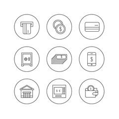 money icon outline
