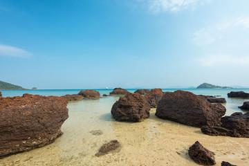 Wall Mural - Beautiful Stone beach at Koh Kood Island,Thailand