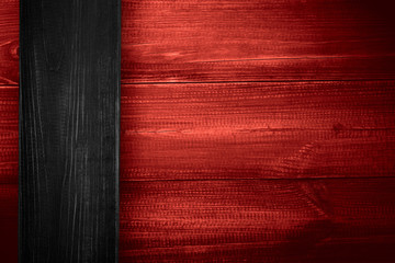 black and red wooden background