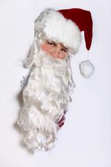 Peeking Santa Claus