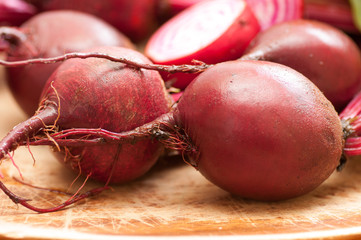 chioggia or candy cane beets