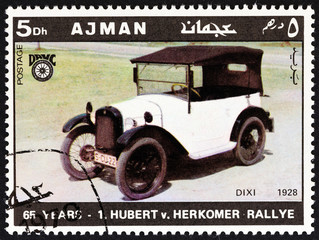 BMW Dixi of 1928 (Ajman Emirate 1970)