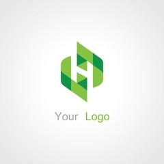 green letter H logo