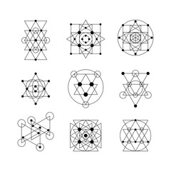 Sacred geometry elements