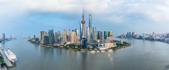 Fotobehang Aziatische Plekken Spectacular views of the Bund,shanghai,china.
